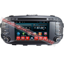 2 Din Car GPS Navigation Unit Android 7.1 System For Kia Soul 2014 With DVD Radio Wifi RDS OBD TPMS Streering Wheel Control