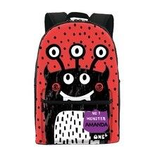 2016 ONE2 Дизайн абстрактный узор hot shot мешок школы именитые дешевые холст рюкзак и ноутбук сумка для девочек-подростков
