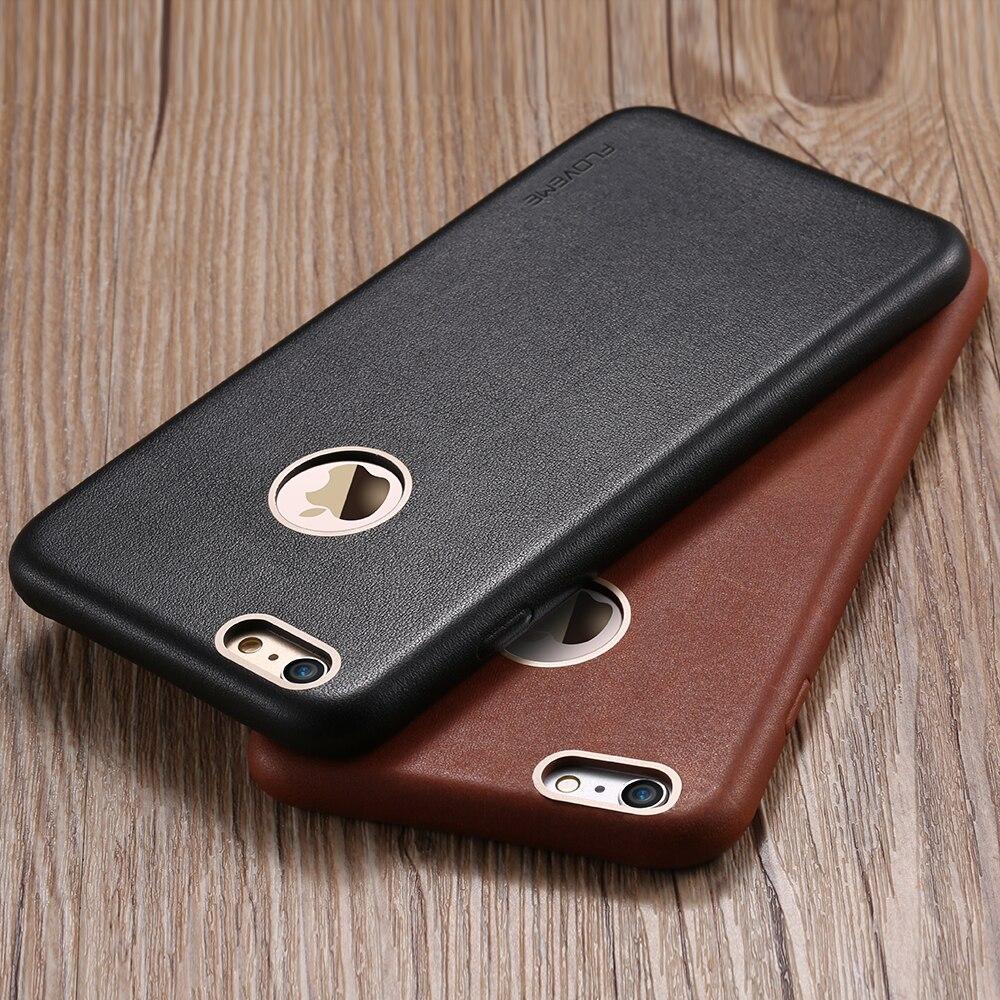 imágenes para FLOVEME Caso de Protección Completa Para el iphone 6 6 s Plus Teléfono Capa Accesorios Fundas de Cuero de Nuevo Caso Para Apple iPhone6 6 s Plus