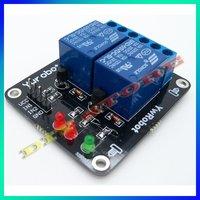 5 шт. 2-канальный постоянного тока 5 в реле плата расширения для AVR и 51 пик микроконтроллеров DSP рукоятка msp430 на 10000062