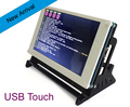 USB Touch Control 7 inch LCD Display  for Raspberry Pi 3 Model B RPI 2 Banana Pi /Beaglebone Black/Pidora/Raspbian/linux/XBMC