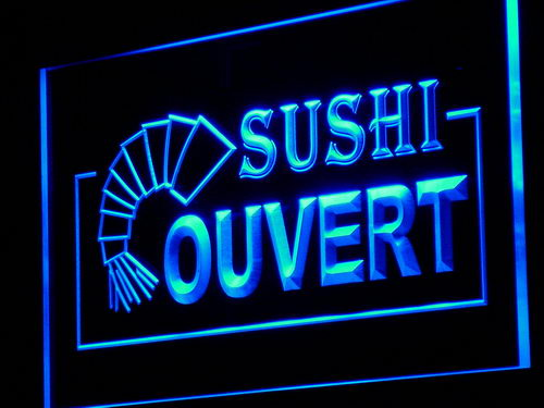 Neon sushi coupons