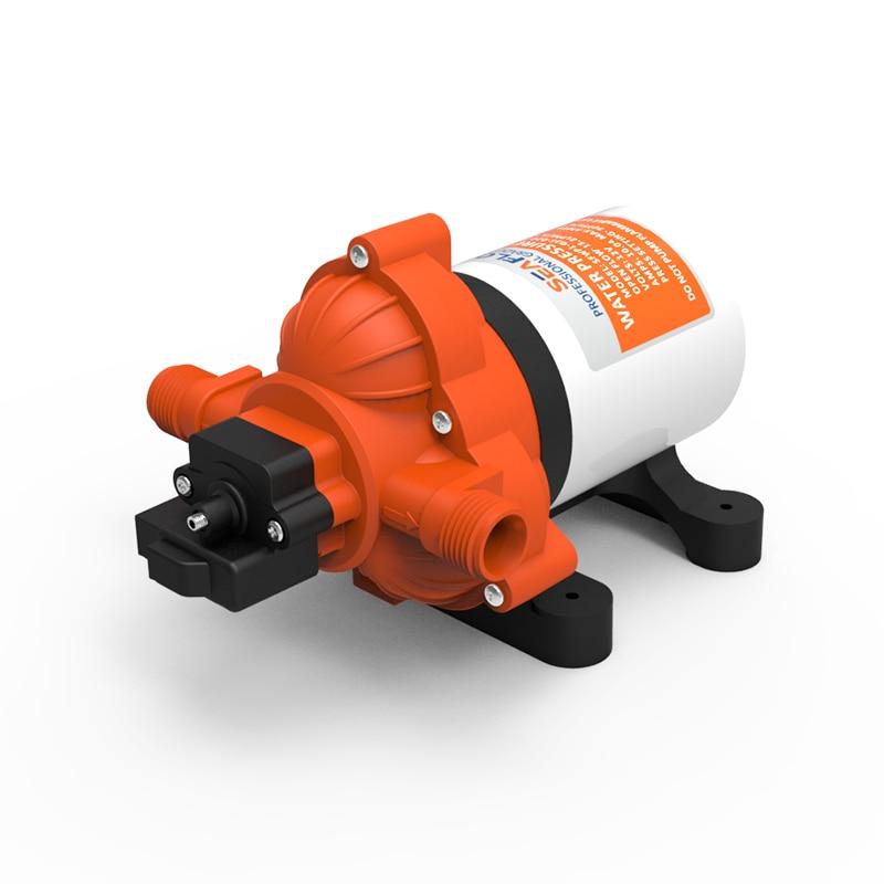 ФОТО New Diaphragm Low Pressure Water Pump 12v 45PSI 3.0 GPM SEAFLO Marine Water Pump Caravan Boat