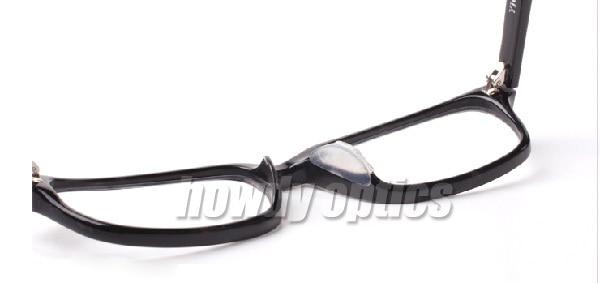 5prs Eyeglasses Silicone Auti Slip Nose Pad Adhesive Plastic Soft ...