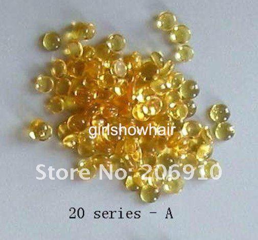 100 г желтый кератин зерна кератин клей пелета гранулы для наращивания ногтей, 10 серия