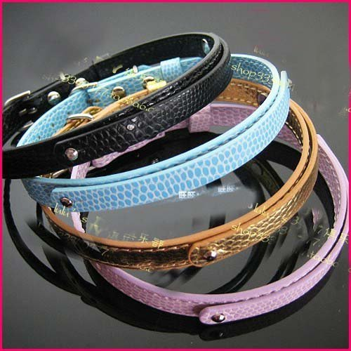 Us 17 5 Diy Dog Collars Marble Effects Puppy Collar Cat Collars Nice Dog Belts Diy Pet Collars 8mm 6 Colours Available In Cat Collars Leads From
