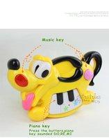в розницу новый год детские развивающие музыкальные игрушки музыка собака веселый животных форте Рождественский детские пластик игрушка для детской игры c121005-8