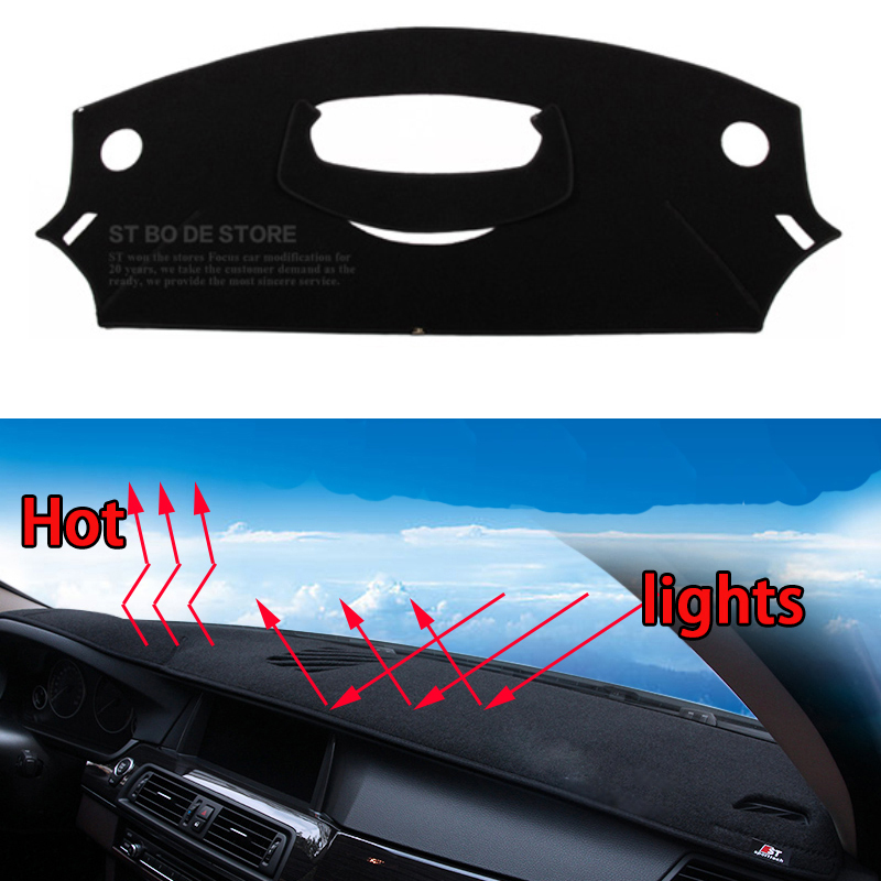Car dashboard Avoid light pad Instrument platform desk cover Mats Carpets Auto accessories for citroen C-Quatre C-TRIOMPHE special car trunk mats for toyota all models corolla camry rav4 auris prius yalis avensis 2014 accessories car styling auto