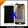 Бесплатная доставка + 100% протестированных оригинал для Samsung Galaxy note 2 N7100 жк-планшета ассамблеи-черный белый / серый