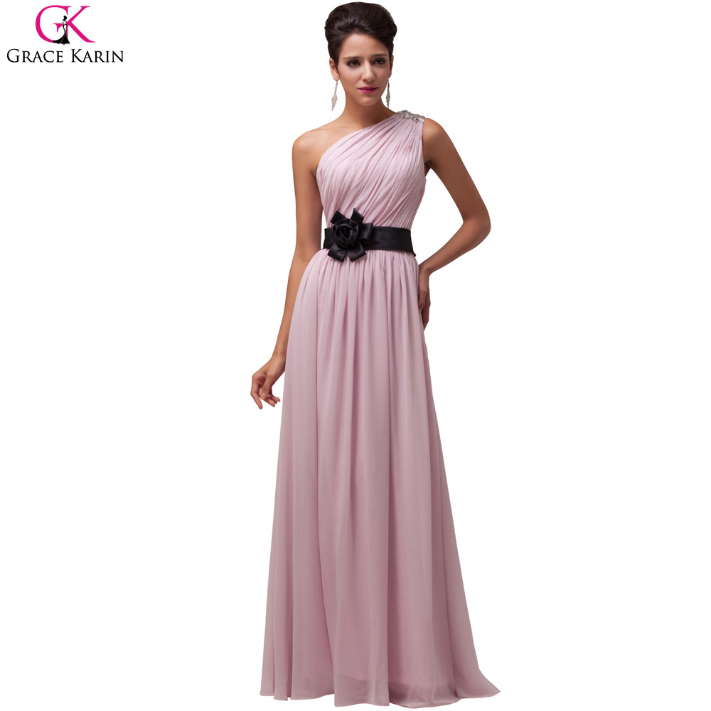 Grace karin chiffon evening dresses 2016 dinner elegant for Formal dress for women wedding