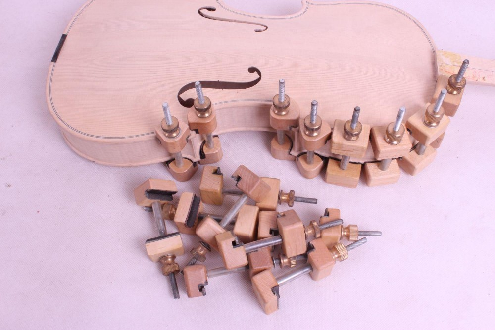 Зажимы для скрипки инструменты зажим для ремонта инструмент для скрипки tuthier скрипичный мастер 32 шт.# Q25