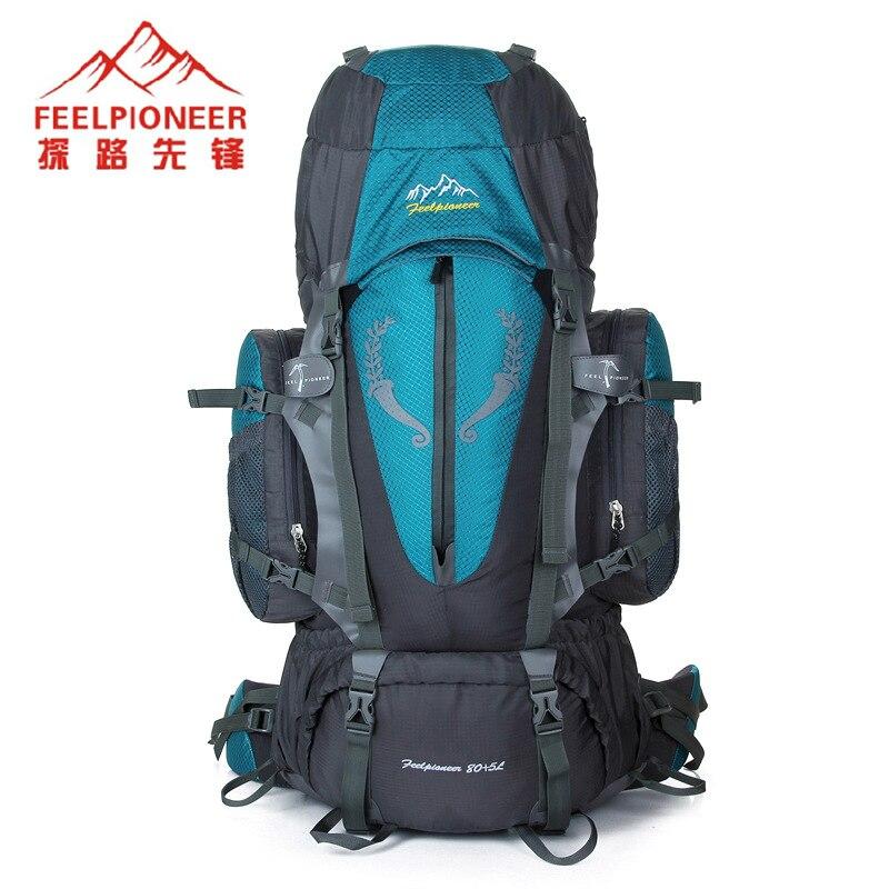 FEEL PIONEER 85L Large Capacity Hiking Sport Bag Climbing Rucksack Military font b Tactical b font