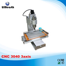 New arrival CNC 3040 engraving machine 3 axis pillar type cnc machine, Ball Screw Table Column Type woodworking cnc router