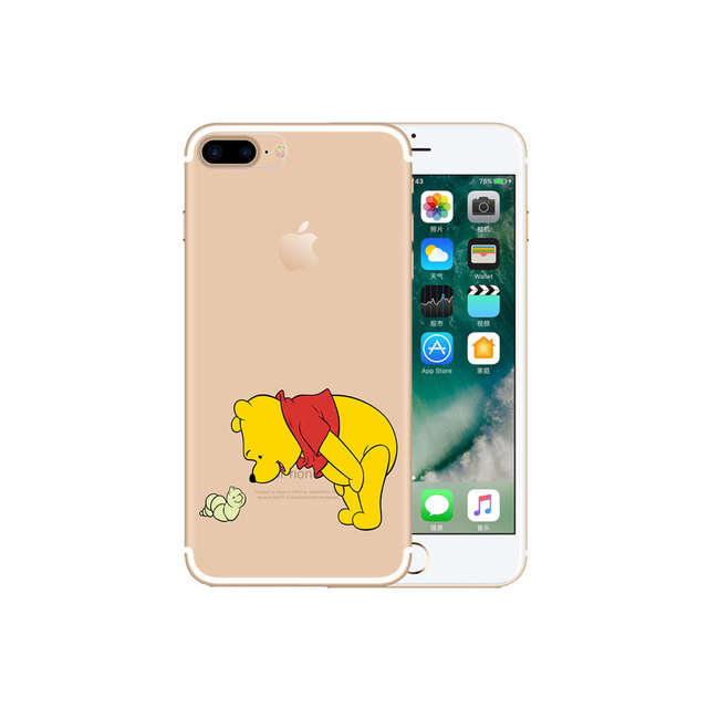 sports shoes 75280 bd1a4 US $2.99 |KOOLRGB Classy TPU Cover Case Pooh Bear Print Case TPU Phone Case  For iPhone 7 iPhone 6 6S Plus iPhone 7 Plus on Aliexpress.com | Alibaba ...