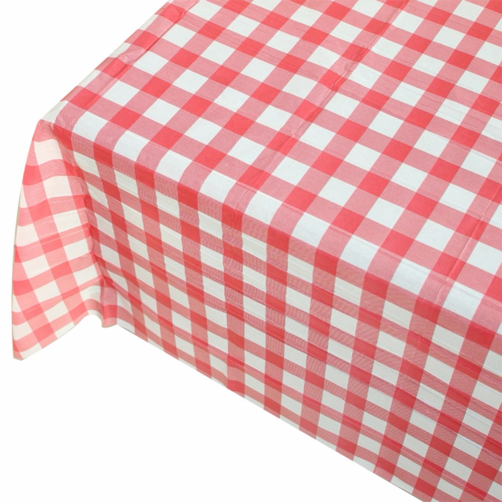 Red White Striped Tablecloth Cotton Linen Dinner Table Cloth Macrame  Decoration Lacy Table Cover Classic For Gift In Tablecloths From Home U0026  Garden On ...