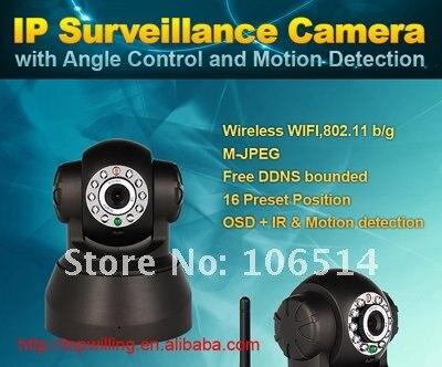 Беспроводной IP Камера веб-Камера сети Wi-Fi ИК ночного видения P/T Вращение EasyN с Цвет коробка