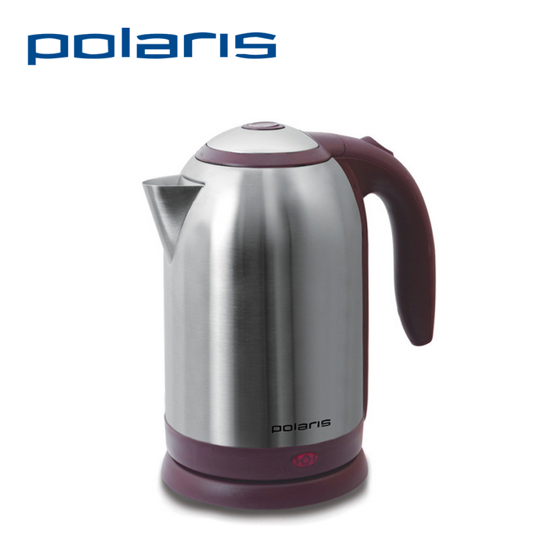 Polaris PWK 1864CA 1.8L 1800W Electric Kettle Safety Auto-Off function Stainless Steel Quick Heating water Kettles Scale Window