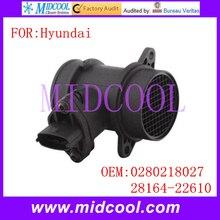 Новый Массового Расхода Воздуха Датчик использование OE-№ 0280218027, 28164-22610 для Hyundai Accent