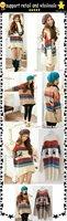 оптовая продажа, самая низкая цена! стоит трикотаж, плакировка свитер, женская одежда, Рождественский женщины прекрасны Аллен с свитер