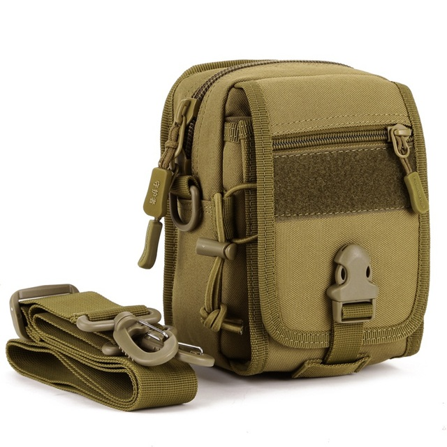 Molle Military Waist Pack Casual Pouch Purse Phone Case Messenger Bags Camouflage Shoulder Bags Fanny Pack B