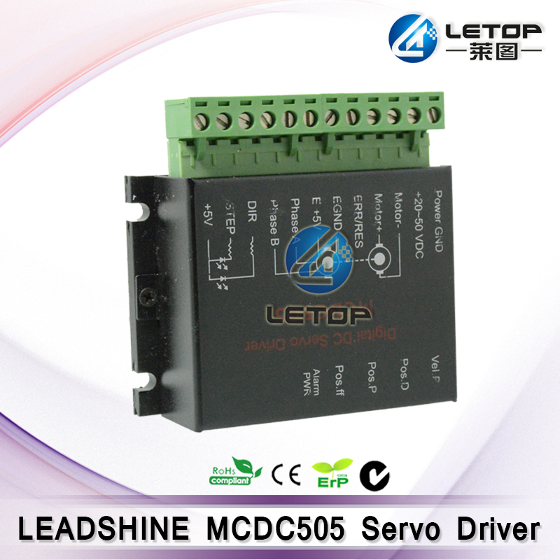 Brand New! 24-50V 200W Printer Motor Driver Leadshine MCDC505 DC Servo Driver
