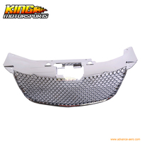 For 07 08 09 10 B Style Mesh Hood Grille Chrome Chrysler Sebring USA Domestic Free Shipping Hot Selling