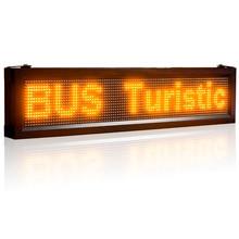 P10 12V 24V LED Sign Semi- Outdoor Car Bus Trucks warehouse Bluetooth Led Display Display