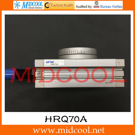 Original AirTAC Rotary table cylinder HRQ Series HRQ70A original airtac multi mount cylinder md series md20x25
