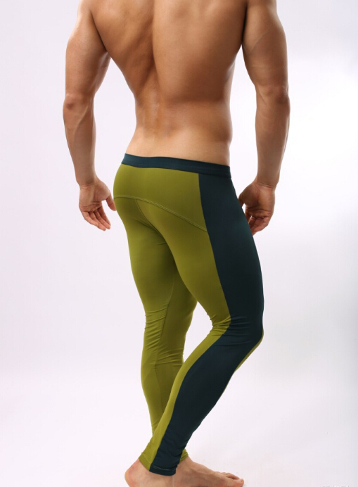 Mens Compression Fitness Cuecas Pants Tights Pants