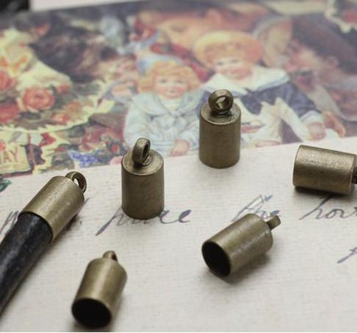 500 шт/партия ожерелье браслет Накладка для бисера для 3 мм кожаный шнур ювелирных изделий