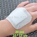 20 Unids 10*15 cm Vendaje Curita Herida Apósito de Gasa Médica Almohadilla de Algodón Gasas Estériles de Primeros Auxilios para la Limpieza de Cubierta