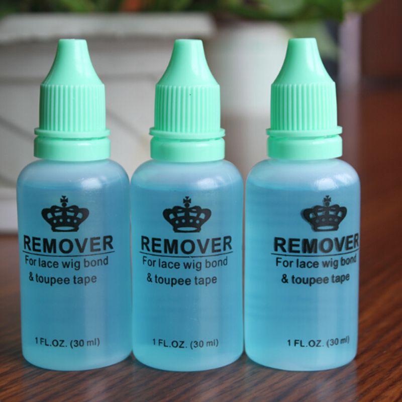 3 бутылки профессиональный салон использовать 1 унц. 30 мл клей для удаления волос для шнурка парик кожи утка лента для волос удаления волос ...