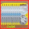 60 PCS Desempenho 10 PR70 A10 Rayovac Adicional 1.45 V Aparelhos Auditivos Baterias Zinc Air Bateria Botão Feito no REINO UNIDO com O Dom Gratuito