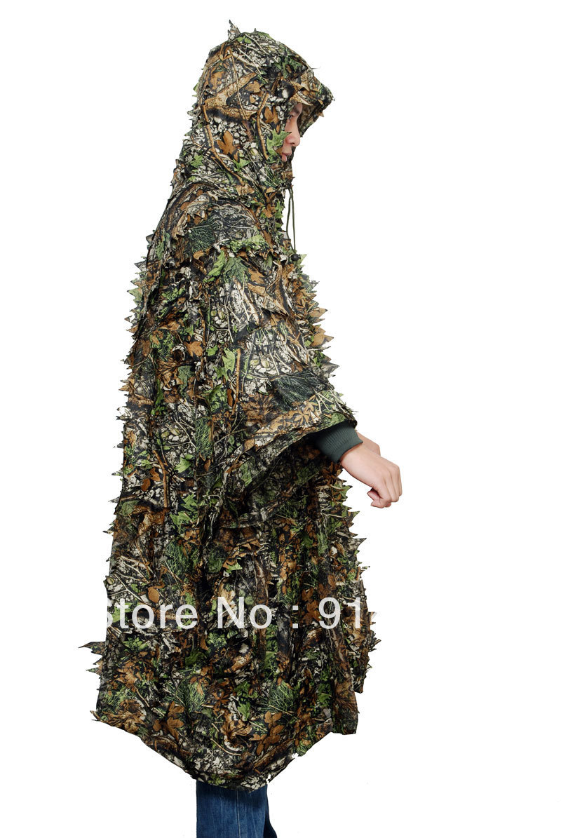 Tactical Military 3d Camouflage Net Cloak Costumes & Accessories Costume Props 32852 High Quality And Inexpensive