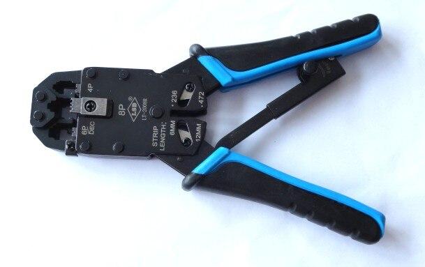 6 P 4 P 8 P Rj11 Rj12 Rj45 Draht Kabel Crimper Utp/stp Network Tool Modulare Rj45 Crimpzange Professionelle Rj45 Amp Netzwerk Werkzeug Gute QualitäT Handwerkzeuge Werkzeuge