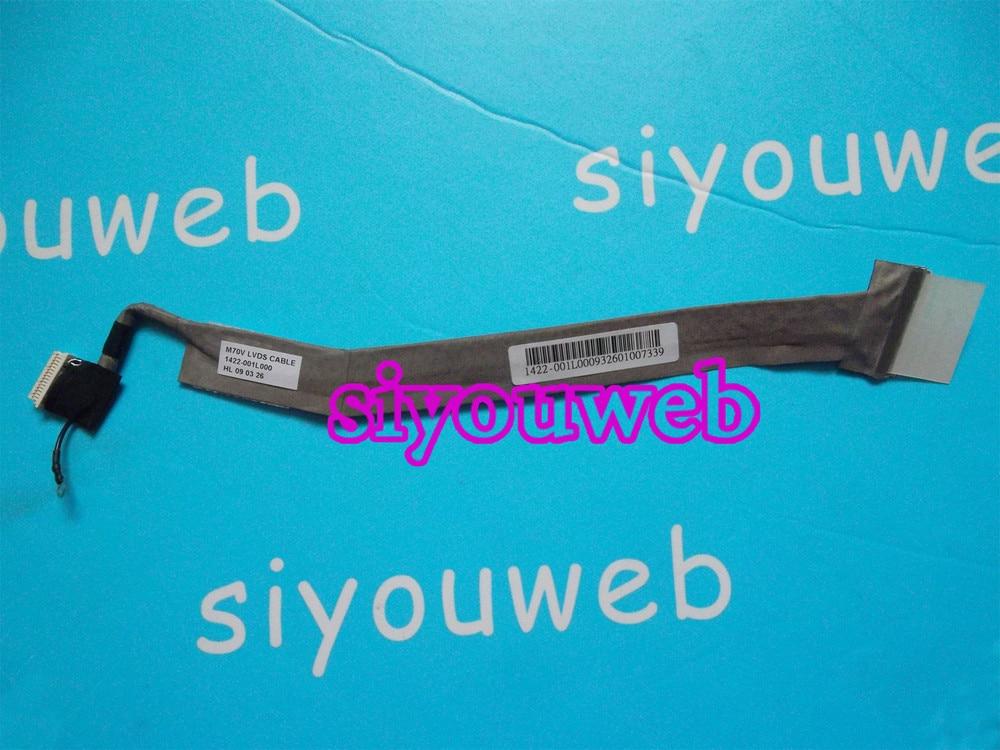 NEW LCD Video cable 1422-001L000 for ASUS M70V M70SV M70SR X72V G71V GG72 Laptop,FREE SHPPING