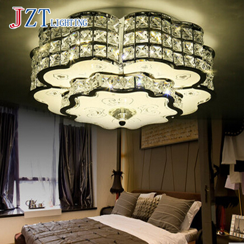 T Modern Simple LED Light for Bedroom Sitting Room Romantic Crystal lamp for Sitting Room Bedroom Free Shipping