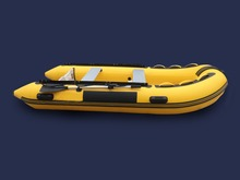 GTS330 Professional Inflatable  PVC Rubber Boat for Fishing Kayak 5 Person Inflatable Fishing boat