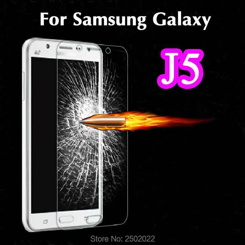 0.3mm Explosion Proof 2.5D 9H Film Tempered Glass Screen Protector Untuk Samsung Galaxy J5 J500F J500H pelicula de vidro
