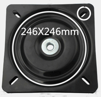 246mm Turntable Bearing Swivel Plate Lazy Susan! Great For Mechanical Projects Hardware Accessories hq hr 12inch 300mm full ball bearing swivel plate lazy susan turntable tv rack desk tool 360 degree furniture swivel stand