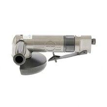 Угловая шлифовальная машина пневматическая GROSS 57454 (Диаметр диска 130 мм, число оборотов 11000 об/мин, размер воздушного патрубка 1/4 дюйма, рабочее давление 6.3 бар)