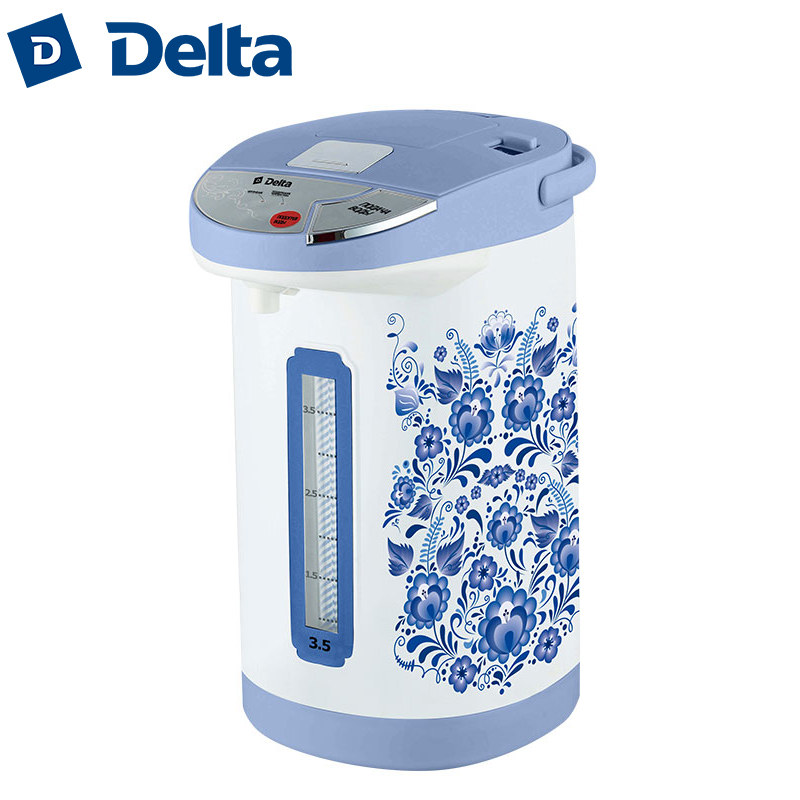 DL-3033 Electric Air Pot. Thermopot, 3,5L, thermo electric thermos insulation kettle, temperature control DELTA hotter hx 010 blue electric kettle folding constant temperature control electric water kettle 0 8l thermal insulation teapot
