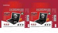 5 шт./лот 15.6 дюймов портативный ДВД плеер с DVD-дисков, телевизор, игры, USB-порт, поддержка MPEG4, чтения карт. вга копия. ФМ