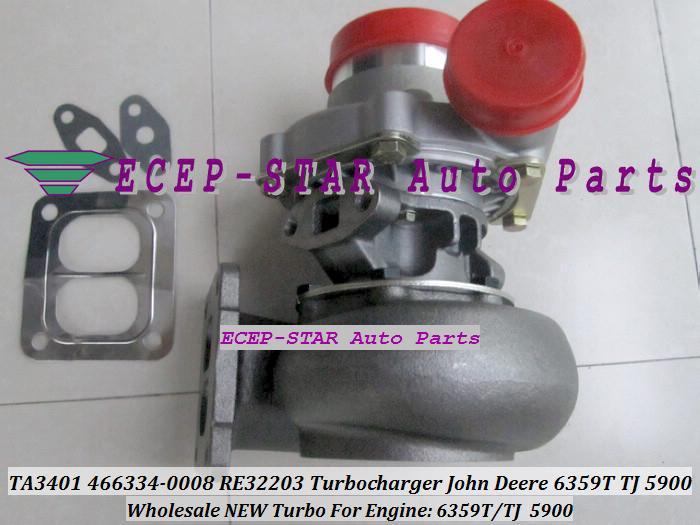 TA3401 466334 466334-0008 RE32203 Turbo turine turbocharger Fit For John Deere 6359T TJ 5900 (2).JPG