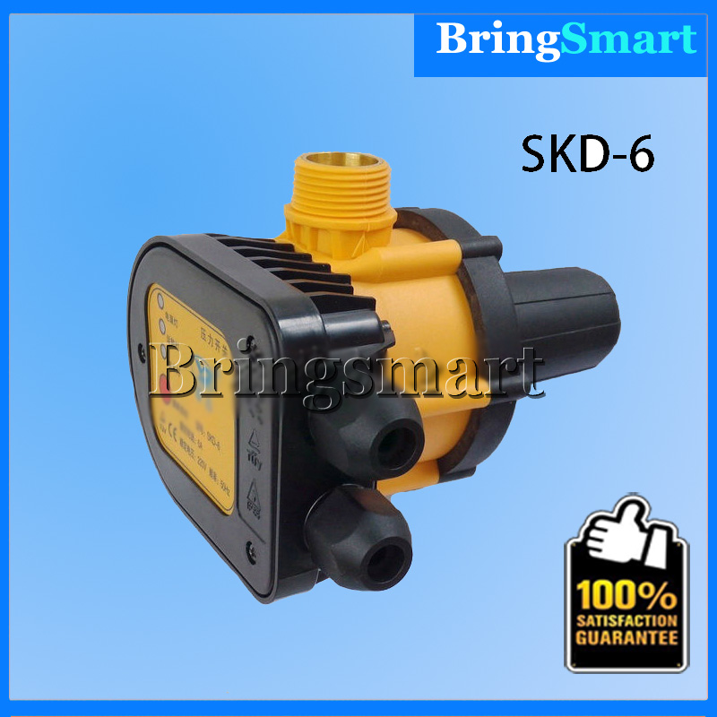 Free shipping SKD-6 Pump Electronic Pressure Switch Controller 1.5Bar Automatic Pressure Switch free shipping kpi36 060 1189 pressure controller switch relay pressure switch automatic reset g1 4a 4 12bar