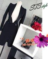 женщины turk пальто / куртка женские D negro стиле рукав-буф URL