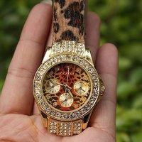 мода дизайн кристалл леопард Коста леди смотреть новый