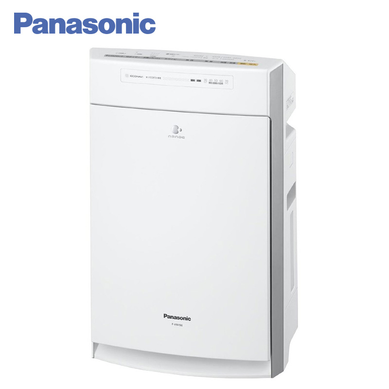 Panasonic F-VXH50R-W Air Purifier Humidifier 2.3L 3D-circulation of air flow ECONAVI mode Humidification function Child Lock