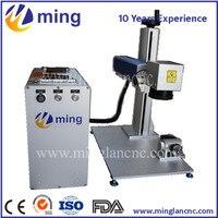 10W 20W 30W colour fiber laser marking machine,portable fiber laser marking machine 10W JPT Mopa source Fiber marking machine