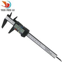 Новый Tongfenglh 5301 модель 6 дюймовый ЖК-150 мм Цифровой Электронный Углеродного Волокна Штангенциркуль